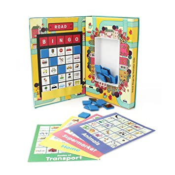 Buy Magnetic Travel Bingo Matching Toy For 2 5 Year Old Boys And