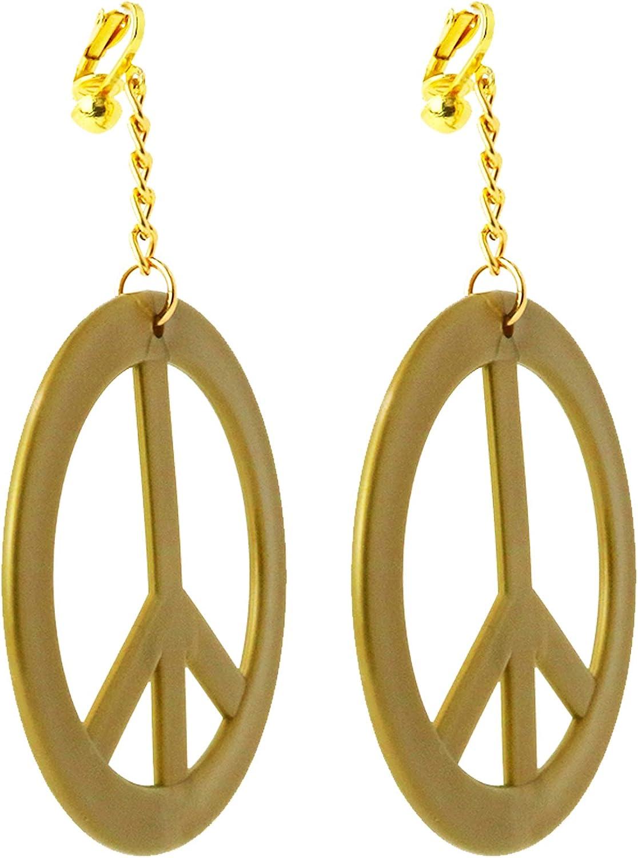 Peacock Ore Peace Sign Dove Earrings Peace Earrings Hippie Earrings Indie Kid Jewelry Indie Kid Necklace