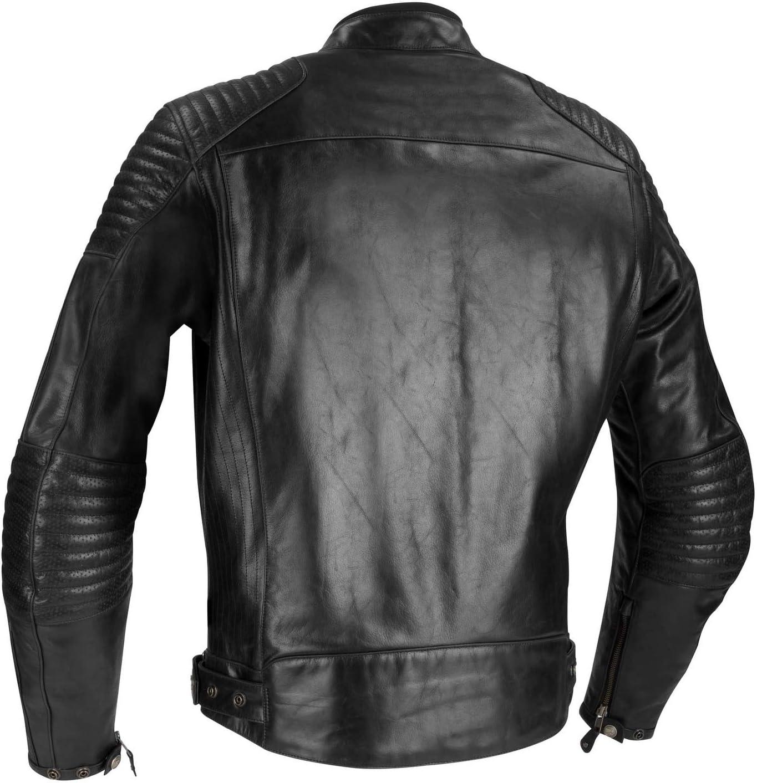 Black Motorcycle jackets Bering MORTON Black L