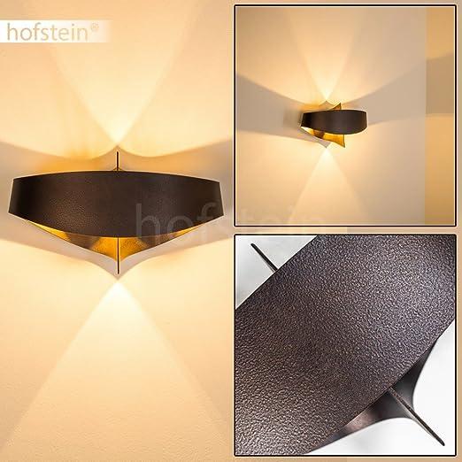 7 opinioni per Applique da Parete Interni design moderno- Lampada da parete in Metallo color