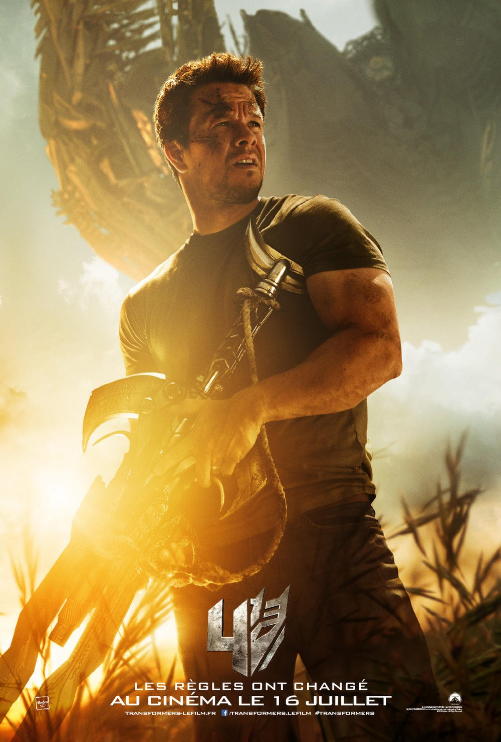 Transformers : Lâge de lextinction Francia Blu-ray: Amazon ...
