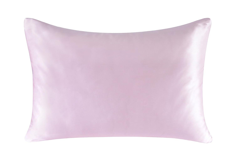 シルク枕カバー ポリエステルホワイトサテン生地の裏地 クイーン ピンク COMIN18JU028574 B01HF70B1S クイーン|ローズピンク ローズピンク クイーン