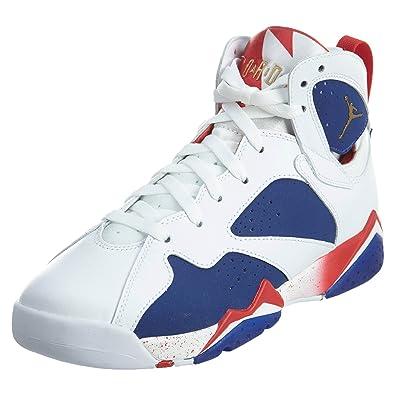 sale retailer 54e0c 25c0b Nike Air Jordan 7 Retro Bg, chaussures de sport - basketball homme, Weiß,
