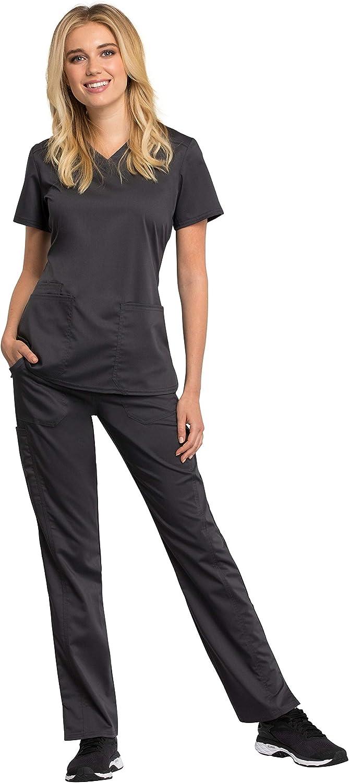 Cherokee Scrubs REVOLUTION TECH Women/'s New Elastic waistband Pants WW235AB
