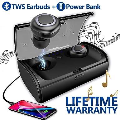 7c0ddd040b6 iFuntec Wireless Earphones, Bluetooth Headphones Wireless Stereo Earphones  with Mic True Mini in-Ear