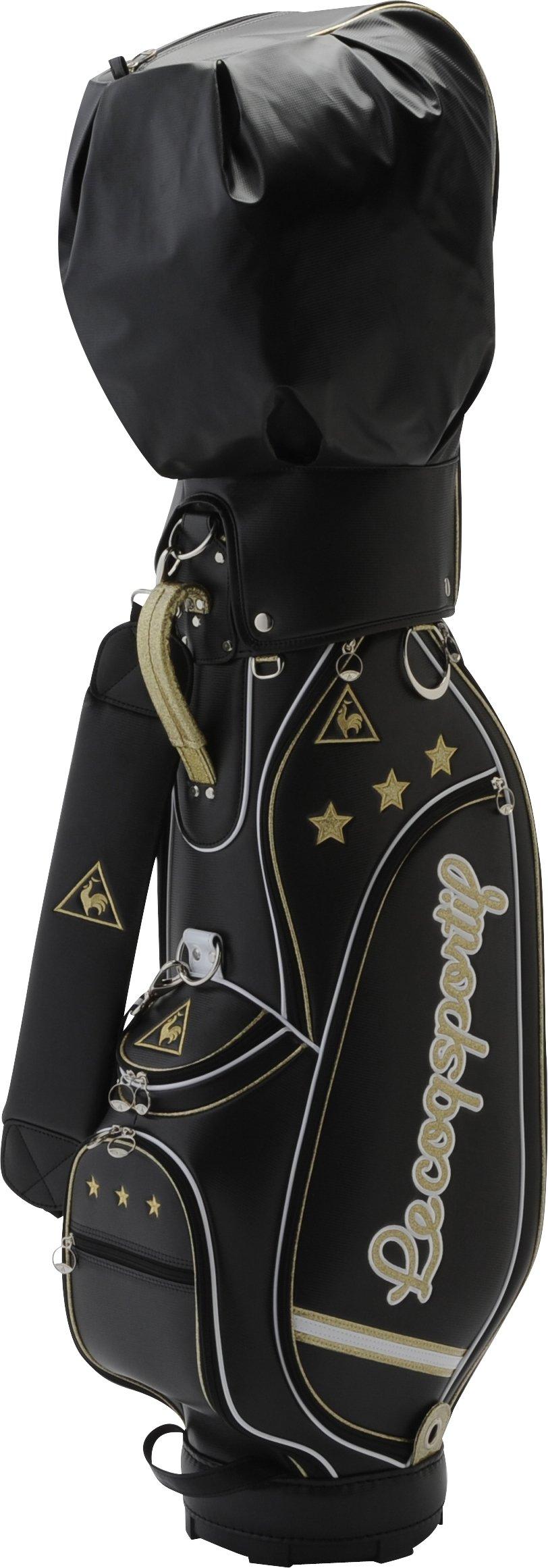 le coq sportif golf QQL1102 N100 BLK Black Ladies Club Caddy Bag S 3.2kg 8.5-46 inch 2015