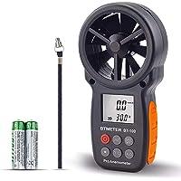 BTMETER Anemómetro Digital Medidor de Velocidad de Viento