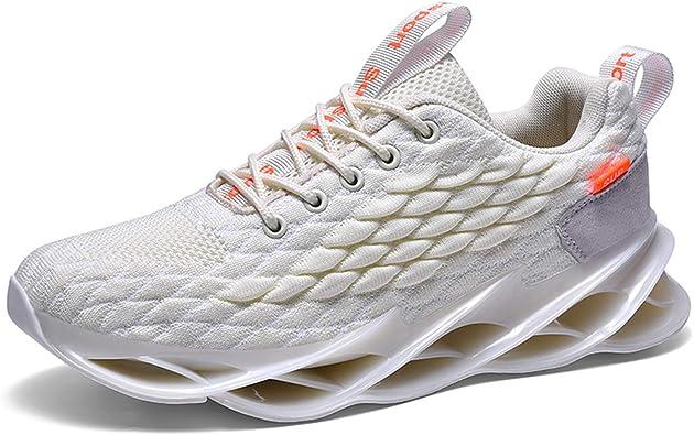 KAWAI Zapatillas de Running de Hombre Respirable Zapatos para Correr Cómoda Sneakers Zapatillas Deportivas Correr Gimnasio Casual Calzado Aire Libre Sneakers: Amazon.es: Zapatos y complementos