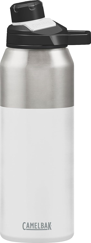 CAMELBAK Chute mag Botella de Agua de Acero Inoxidable aislada al vacío, 95 cl, Color Blanco, tamaño 1 L, 1.0868798391506, 11.8110236220472 x 3.1496062992126 x 3.54330708661417inches