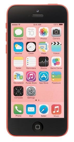 watch 24ec3 d4dbc Apple iPhone 5C, GSM Unlocked, 8GB - Pink (Renewed)