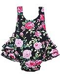 PrinceSasa Baby Girl Clothes Black Cloth Floral