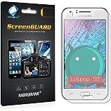 3 x Membrane screen protectors for Samsung Galaxy J5 2015 (SM-J500F) - Clear, Installation Kit