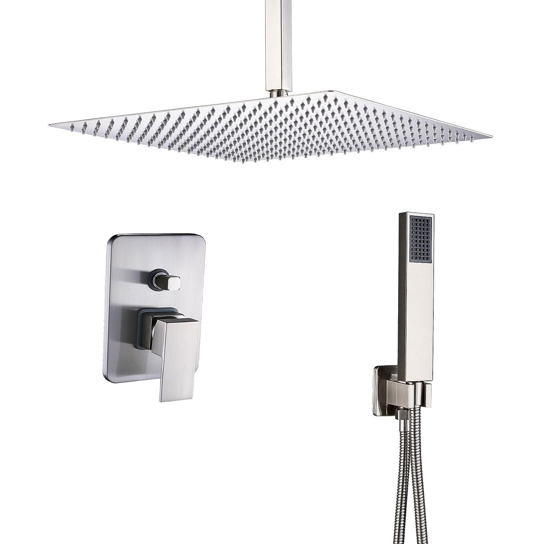 Rozin Bathroom 2 Way Diverter Shower Mixer Kit Ceiling Mounted 12
