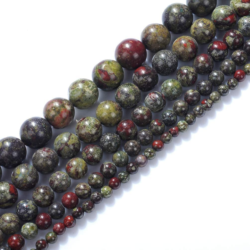 12MM DRAGON BLOOD JASPER GEMSTONE TURQUOISE BLUE ROUND 12MM LOOSE BEADS 16/""