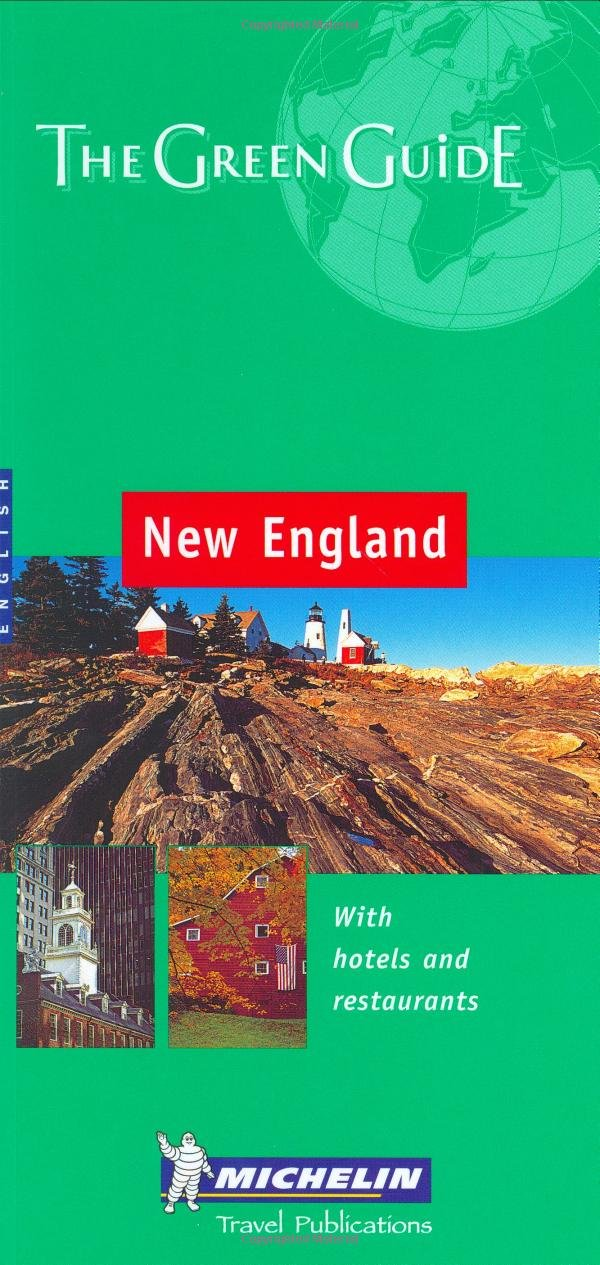 New England  Michelin Green Guide New England
