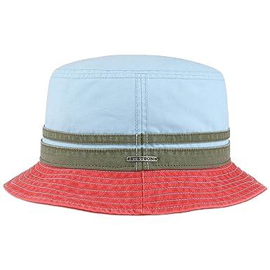 Stetson Multicolour Cotton Bucket Hat Cloth Summer (XXL (62-63 cm ... cc72698e662
