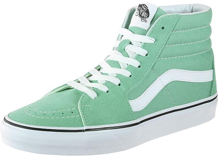 Vans Unisex-Erwachsene SK8-Hi Hohe Sneakers Grün Neptune Green