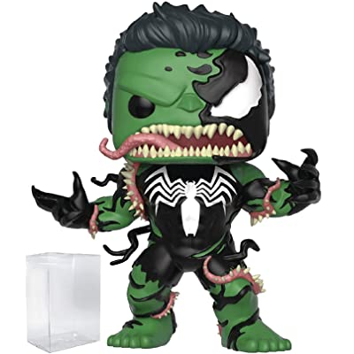 Marvel: Venom - Venomized Hulk Funko Pop! Vinyl Figure (Includes Compatible Pop Box Protector Case): Toys & Games