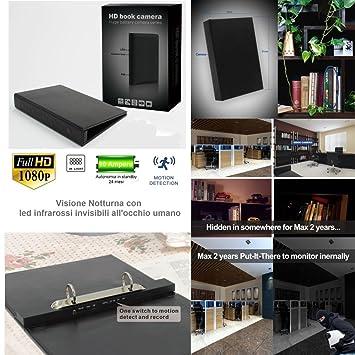 Micro videocámara espía de audio y vídeo HD Blackbox con batería de larga duración + infrarrojos invisibles al ojo humano: Amazon.es: Bricolaje y ...