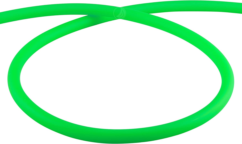 Amy Deluxe Manguera de silicona shisha Mate–Verde claro, 150cm