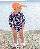 RuffleButts Baby/Toddler Girls Botanical Beach One