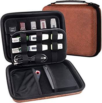 USB Flash Drive Case 6 Thumb Pocket Carrying Storage Holder Wallet Bag Organizer
