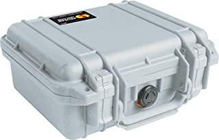 product image for Pelican 1200 Case With Foam (Silver)