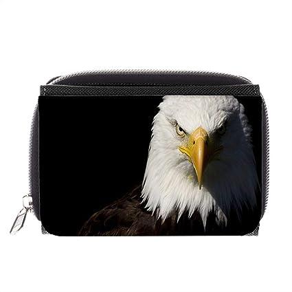 Magnífico águila Calva Cierre Facial HD Amarillo Brillante ...