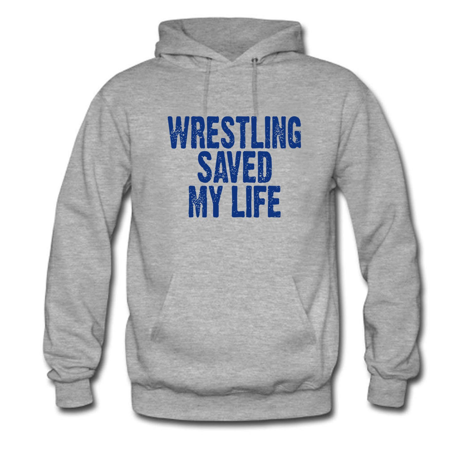 RUIJIE Men's Wrestling Saved My Life Long Sleeve Hoodie by RUIJIE