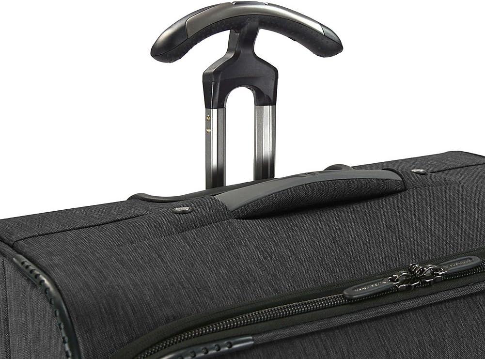 Traveler s Choice Silverwood Softside T-Cruiser Expandable Spinner Luggage, Gray