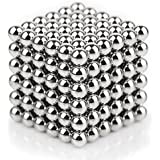 Magnetic Ball, TISSA Magnetic Sculpture Toys for Intelligence Development and Stress Relief (5MM Set of 216 Balls)