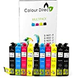 10 XL Ad alta capacità ColourDirect Compatibile Cartucce d'inchiostro per Epson WorkForce WF-2010W, WF-2510WF, WF-2520NF, WF-2530WF, WF-2540WF, WF-2630WF, WF-2650DWF, WF-2660DWF Stampante