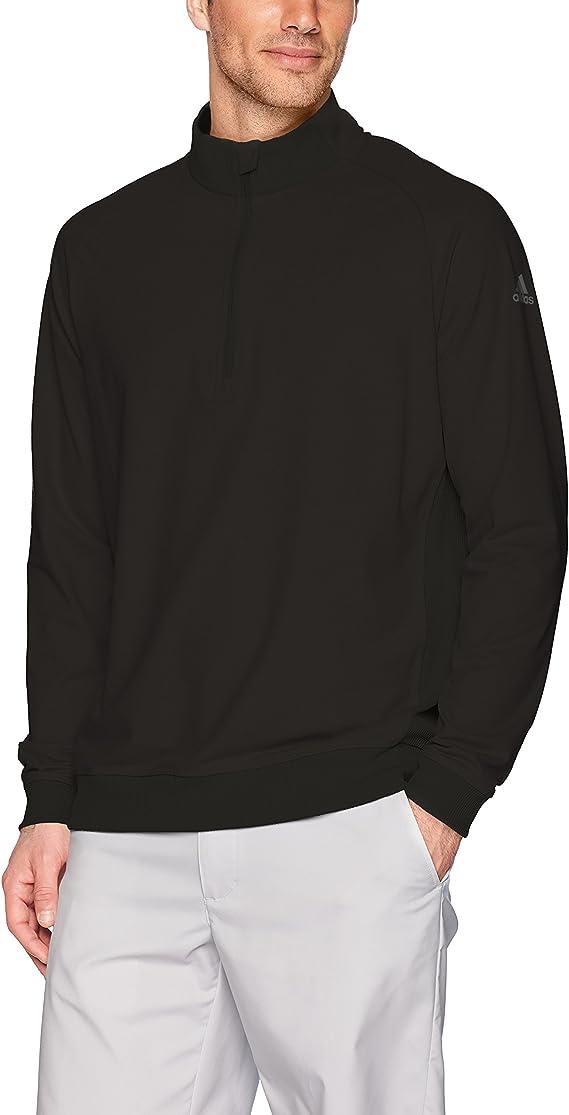 adidas Golf Men's Classic Club 1/4 Zip Pullover Sweater