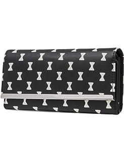 Amazon.com: Wallet for Women PU Leather Clutch Purse Bifold ...