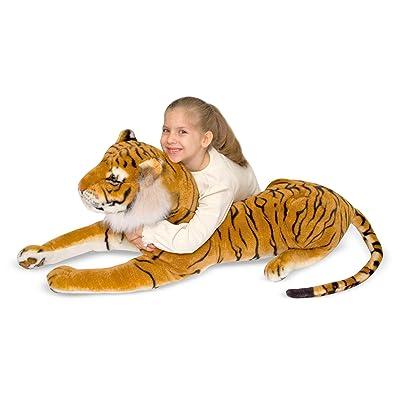 Melissa & Doug Large Stuffed Tiger: Melissa & Doug, , 2103: Toys & Games