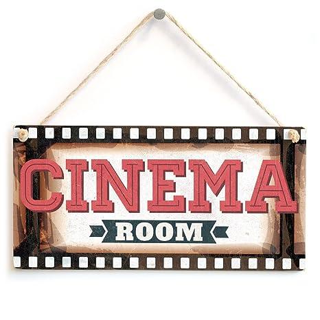 meijiafei sala de cine – Film marco cartel de cine en casa. Regalo para Papá