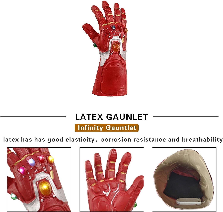 Superhero Infinity Gauntlet Glove Cosplay Halloween Props Toy