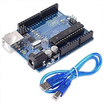 Kakiyi EL-KIT-008 Mega 2560 - Kit de iniciación para Arduino UNO Nano: Amazon.es: Electrónica