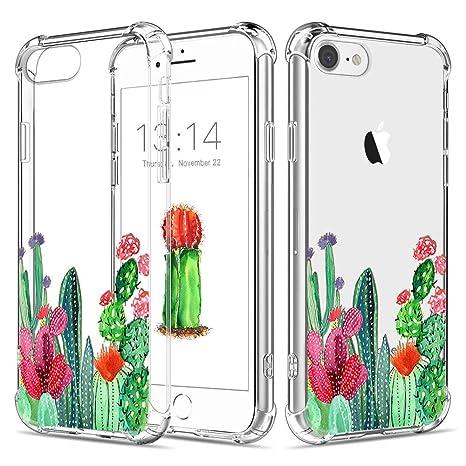 coque iphone 7 silicone cactus