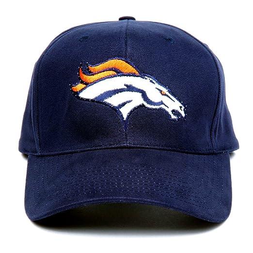 c2c0f781 Amazon.com : NFL Denver Broncos LED Light-Up Logo Adjustable Hat ...