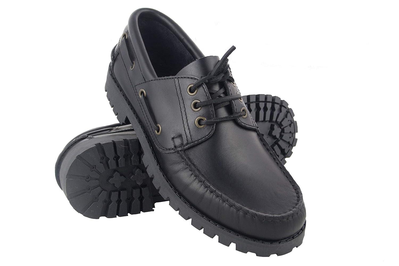 Zerimar Zapato Náutico de Piel para Hombre | Zapatos Náuticos Ligeros | Mocasines Cuero | Mocasines Piel Hombre: Amazon.es: Zapatos y complementos