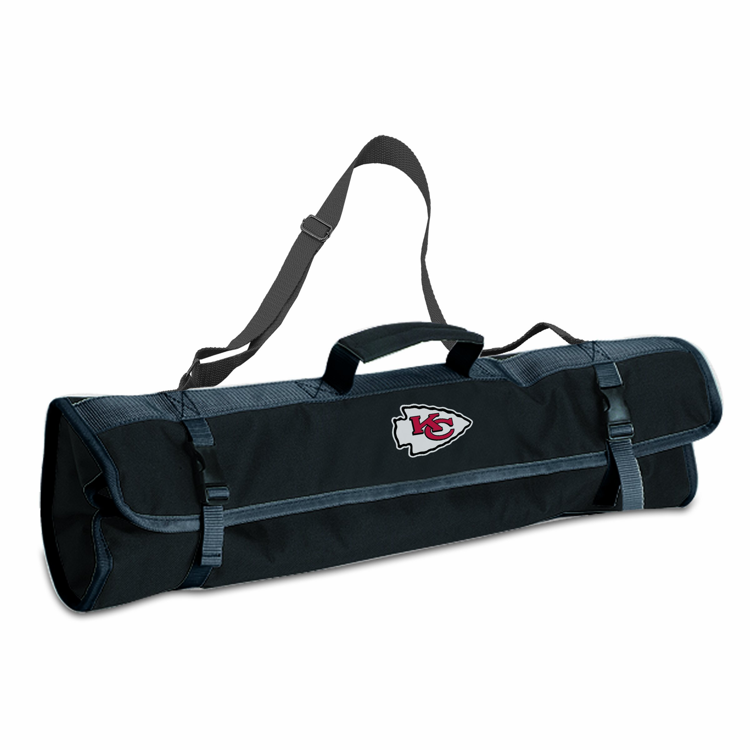 PICNIC TIME NFL Kansas City Chiefs 3-Piece BBQ Tool Tote