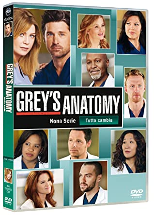 Amazon.com: grey\'s anatomy - season 09 (9 dvd) box set dvd Italian ...