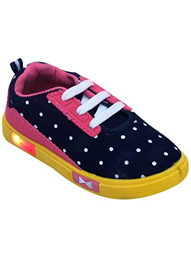 D'chica Colorful Led Shoes for Girls