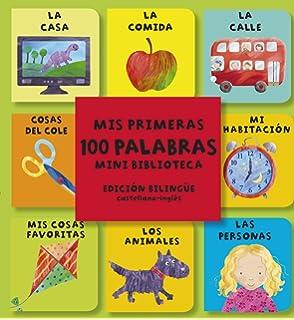 MIS PRIMERAS 100 PALABRAS- MINI BIBLIOTECA BILINGUE