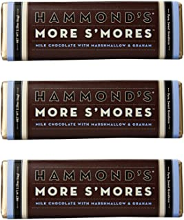 product image for Hammond's Candies - More S'mores (Milk Chocolate) - Chocolate Bar (3 Pack)