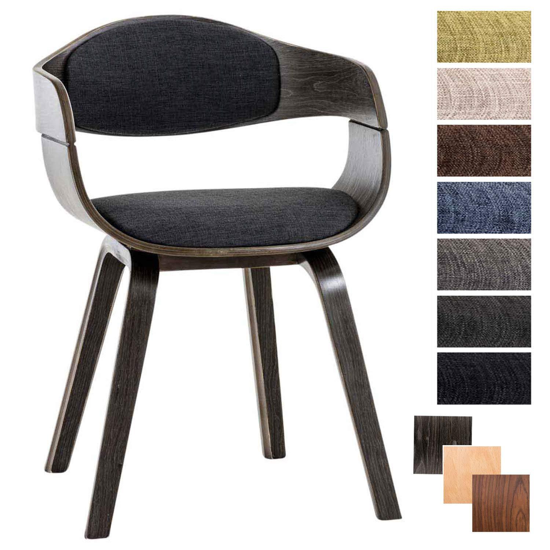 Clp Chaise Design Retro Kingston Tissu Chaise De Salle De