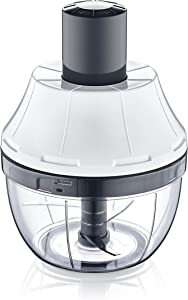CHERRY ECHO Manual Food Processor Small Hand Chopper Onion Cutter Mini Manual Food Chopper Veggie Chopper Great for Slicing Dicing Mincing Vegetables like Onions Tomatoes Fruit Cucumber Garlic Walnut