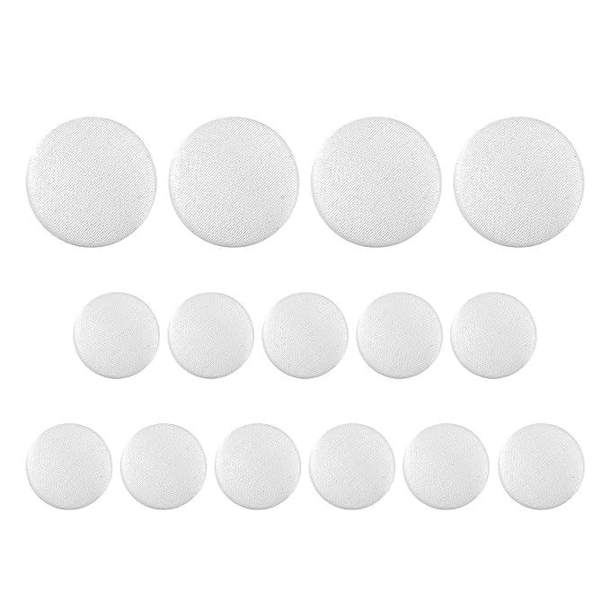Amazon.com: Botones de botón para traje de esmoquin de 15 ...