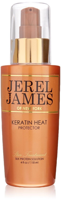 Jerel James Keratin Heat Protector Spray, 4 Fluid Ounce